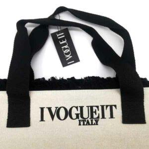 Borsa I Vogue IT color panna canapa