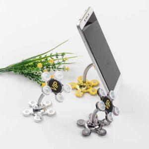porta cellulare snodabile con ventosa a fiore