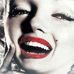 Quadro Marilyn Monroe brillantinato 30 x 40