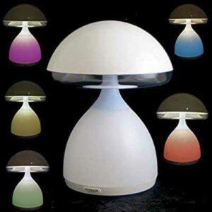 Lumino a fungo a luci led multicolor