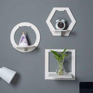 Mensole geometriche tris