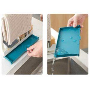 Porta spugne da lavello grande