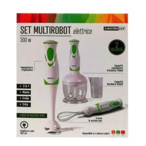 Set multirobot elettrico 300W