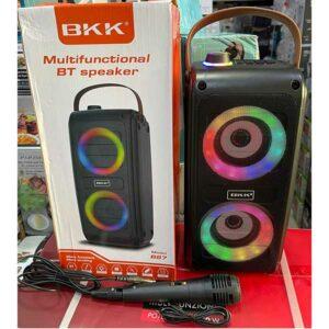 Cassa con microfono BKK bluetooth
