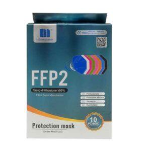 10 mascherine bambini ffp2 fashion