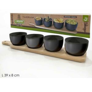 Antipastiere in ceramica stile giapponese