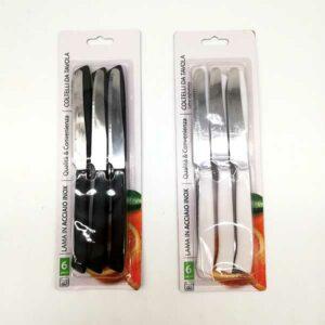Confezione 6 coltelli da tavola