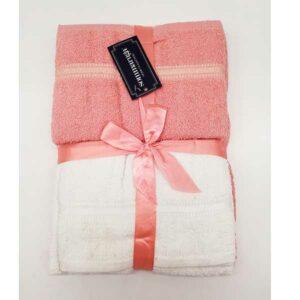 Doppia coppia di asciugamani Sommaruga