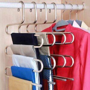 Gruccia in metallo per pantaloni