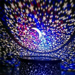 Proiettore di stelle a forma di cilindro