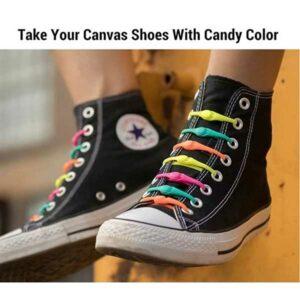 Laccetti in silicone per scarpe