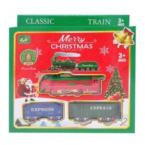 Trenino natalizio in plastica